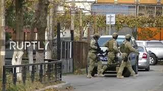 Georgia: Blast and gunfire in Tbilisi amid counter-terror