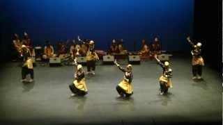 Indonesian folk dance: Hatak Mahantak