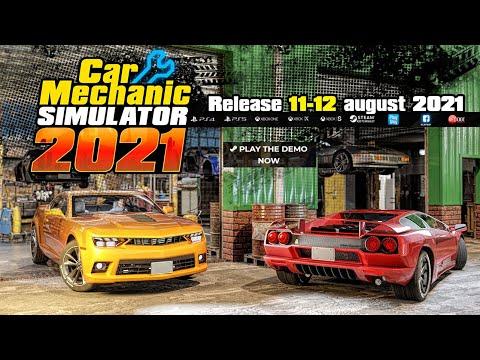 Car Mechanic Simulator 2021 выйдет уже на следующей неделе
