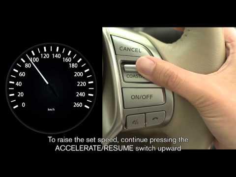 นิสสัน เทียน่า - ระบบควมคุมความเร็วอัตโนมัติ (Cruise Control)