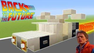 "Minecraft: How To Make A DeLorean DMC-12 ""Back To The Future Car"""