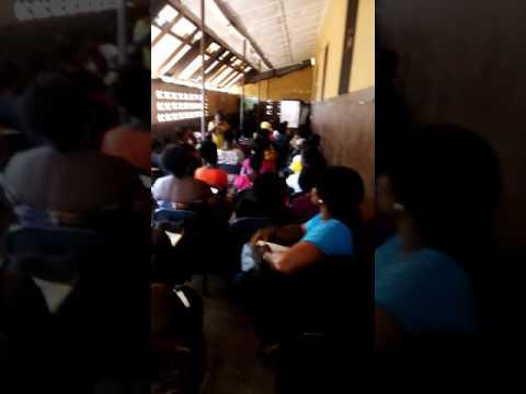 In free town Sierra Leone WICM training for women.
