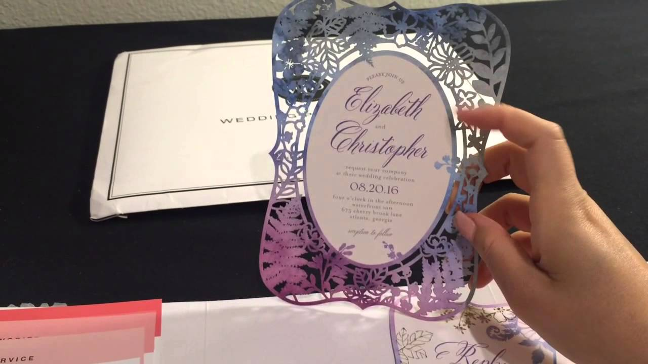 Wedding Paper Divas Invitations Review Part 2 My Wedding