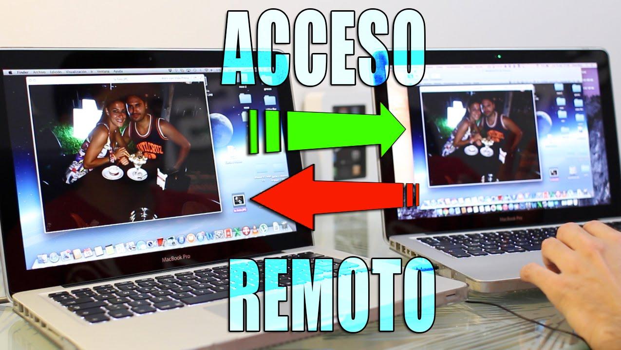 Acceso remoto a otro mac desde osx sin instalar apps for Mac due the box