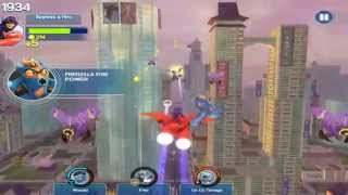 Big Hero 6 Baymax Sky Patrol Gameplay