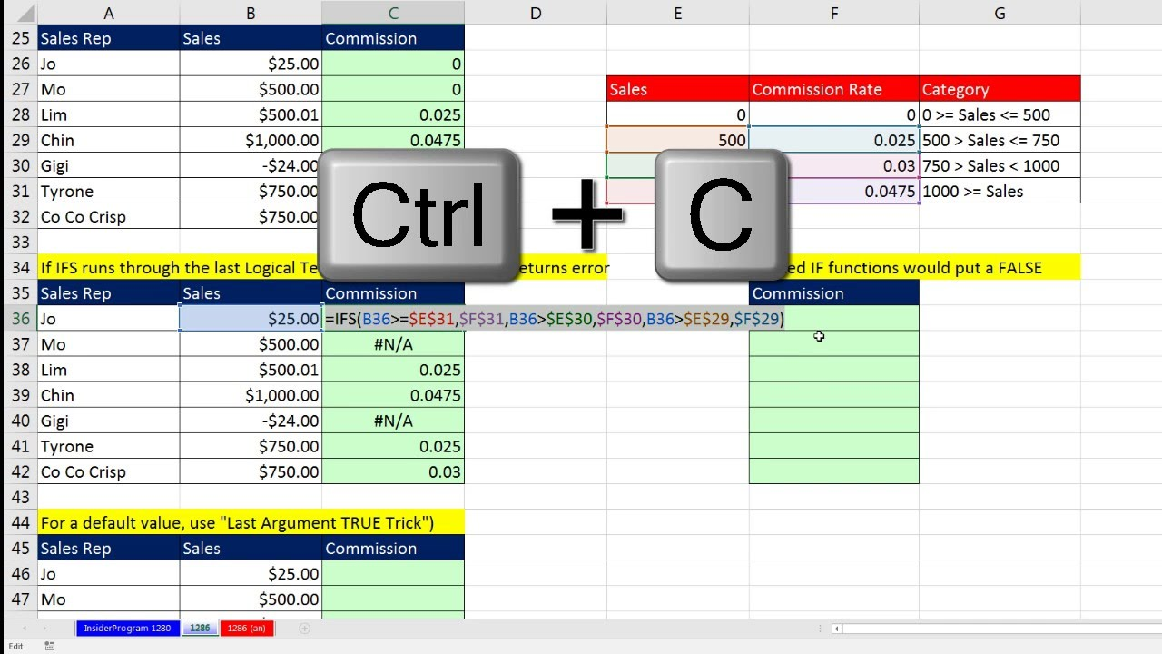 excel functions pdf with examples