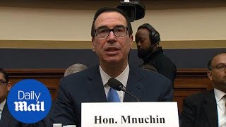 Mnuchin: Administration is focused on long-term economic growth - Daily Mail