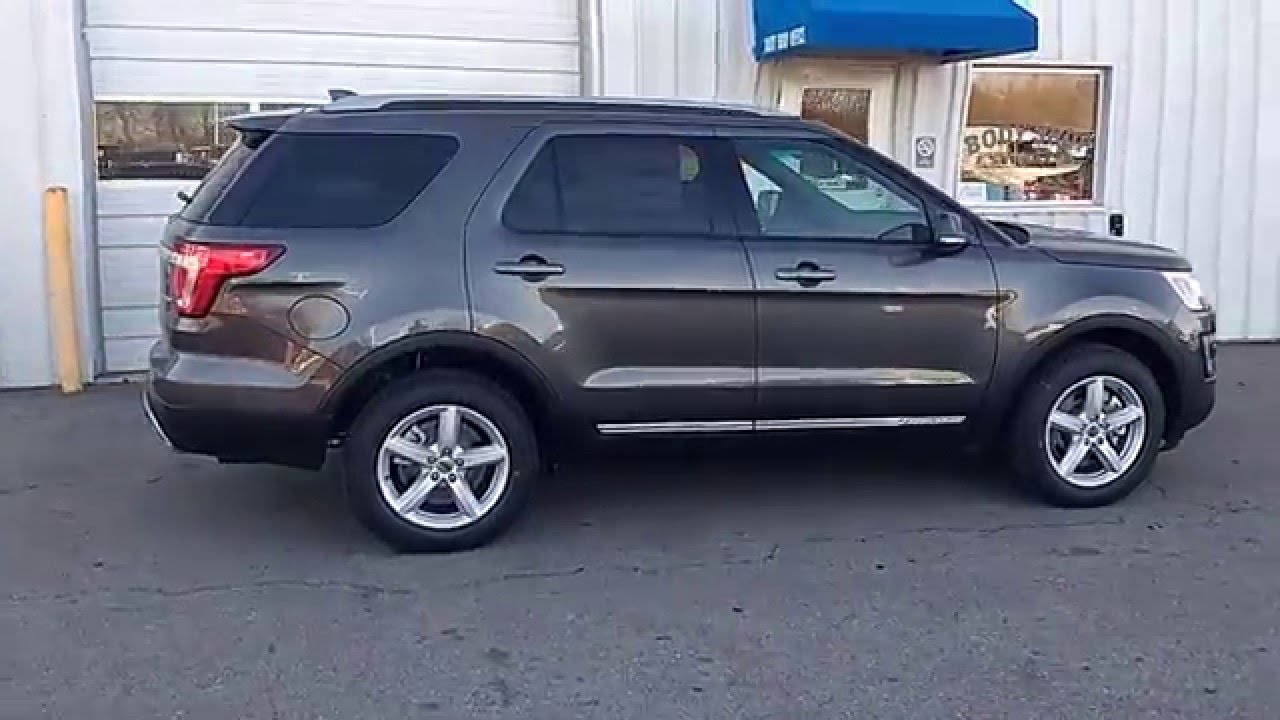 magnetic gray 2016 explorer xlt 4wd 35l 202a 2nd row buckets nav blis marshall ford - Ford Explorer Sport 2015 Magnetic