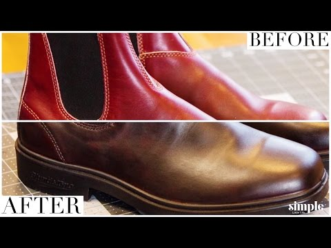 BLUNDSTONE Boot HACK (Or Any Leather Boot For That Matter)