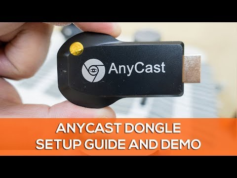 How To Setup The Anycast M2 Plus Dongle - Step By Step Tutorial With Demo