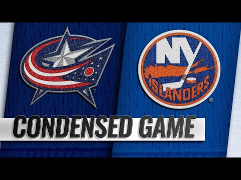 12/01/18 Condensed Game: Blue Jackets @ Islanders