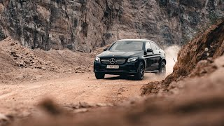 The new Mercedes-Benz GLC Coupé - Trailer