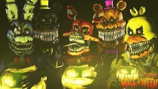 FNAF SFM - This is Halloween (русская версия)