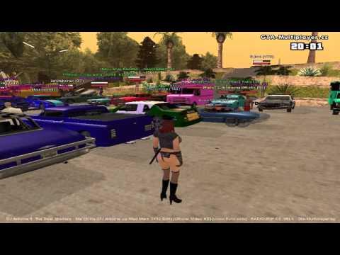 GTA San Andreas Multiplayer.cz Tunning sraz 19.6.2012