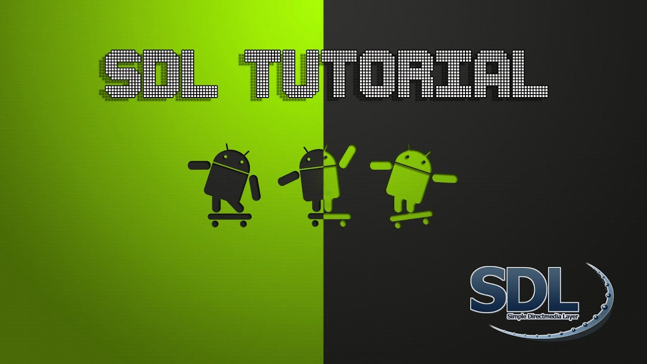 Libsdl android tutorial youtube