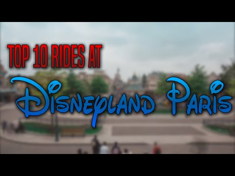 Top 10 Rides You Can't Miss At Disneyland Paris (New August 2017)