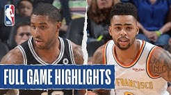SPURS at WARRIORS | FULL GAME HIGHLIGHTS | November 1, 2019