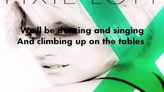 Pixie Lott - All About Tonight (Lyrics Video)