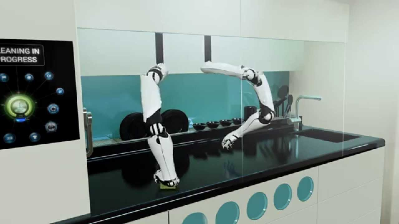 Kitchen Robot Storage Bench The World S First Robotic Tv Commercial Youtube
