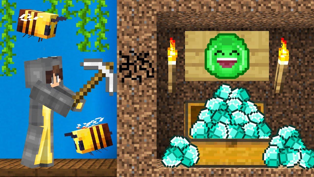 Download I FOUND My Friend's SECRET DIAMONDS! (Minecraft)