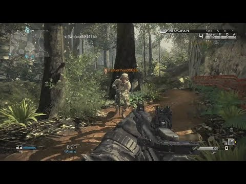 Call of Duty Ghosts Backward Compatibility Multiplayer Gameplay