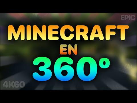 MINECRAFT EN 360 GRADOS 4K60FPS | MEJOR VÍDEO
