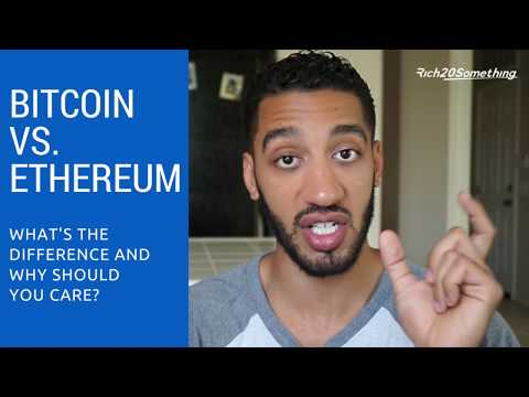 Bitcoin vs Ethereum: They are NOT the same! What's the difference and why should you care?