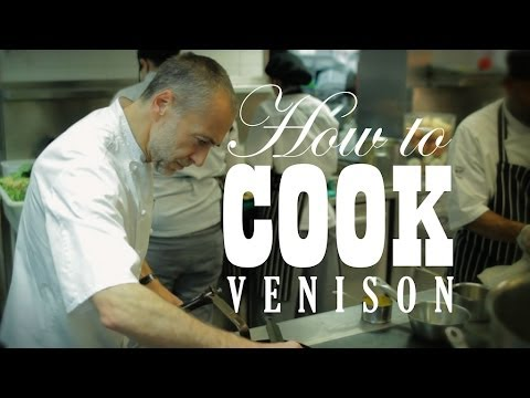 Cooking Venison with Michel Roux Jr.