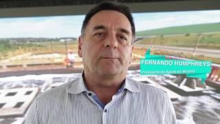 TV Águas - Evento de apresentação das obras de ampliação da ETE Capim Fino