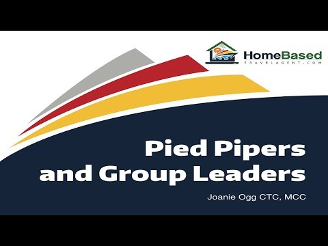 Selling Groups - Pied Pipers and Group Leaders