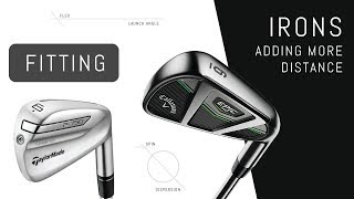 Taylormade P790 & Callaway Epic Pro Iron Fitting – Adding More Distance