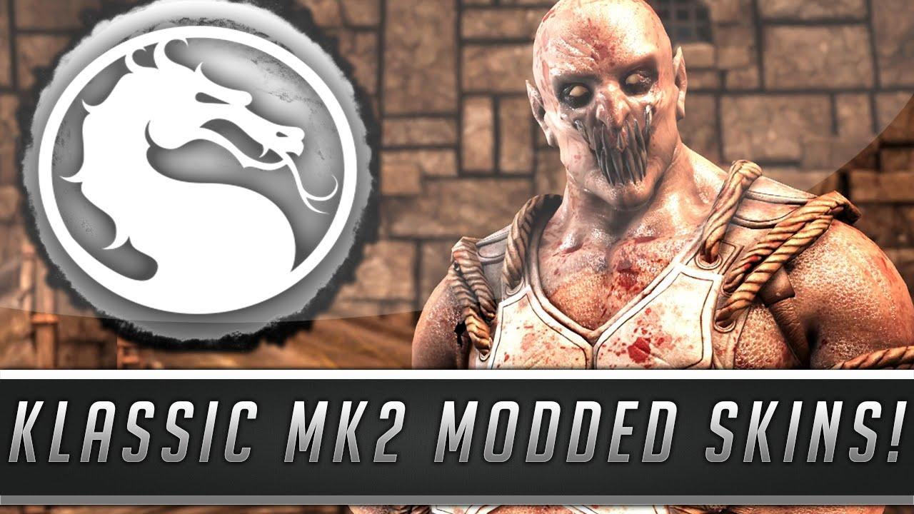 Mortal Kombat X: Klassic MK2 Baraka & Liu Kang Skins Gameplay - Fatalities & More! (PC Mod ...