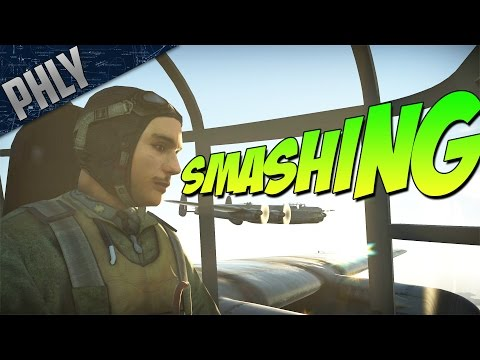 BRITISH BOMBER FORMATION - RAF Lincoln Bomber (War Thunder Gameplay)