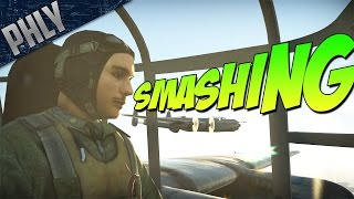 BRITISH BOMBER FORMATION - RAF Lincoln Bomber (War Thunder Gameplay)
