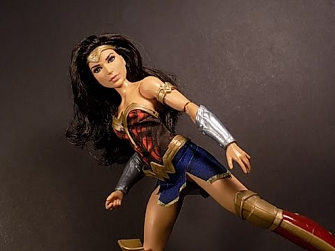 "Movie Wonder Woman 2017 12/"" Doll Series Battle Ready Action Figure Mattel Kids"