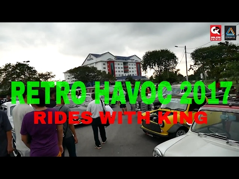 Retro Havoc 2017 - What's Inside? Rides with King