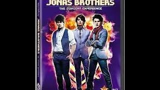 Gambar cover Opening To Jonas Brothers:The Concert Experience 2009 DVD