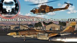 DCS: Iranian F-14 Tomcats & F-5E Tiger II's Scramble to Intercept the Soviets!