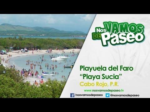 "Playuela del Faro ""Playa Sucia"", Cabo Rojo, P.R."