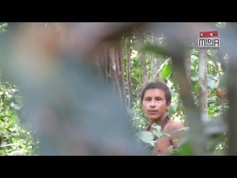 Imagens que mostram indígenas da etnia Awá foram divulgadas pela | AFP