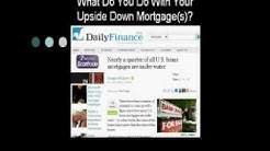 Upside-down Loan Mortgage Refinance Presentation - Principal Reduction
