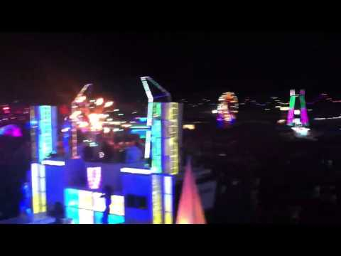 EDC 2013. Dancetronauts Bass Station with Syd Gris.