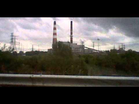 In Peoria, IL near Edwards cilco plant.