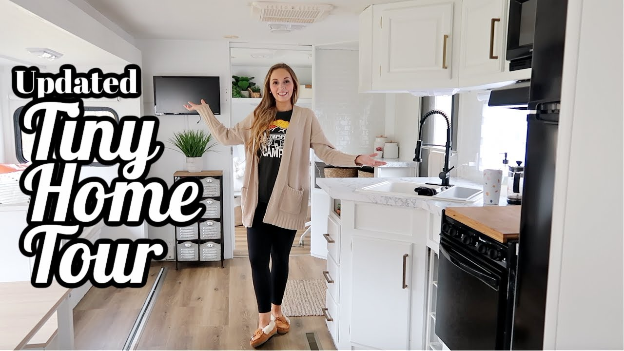 UPDATED TINY HOME TOUR BOHO MODERN FARMHOUSE