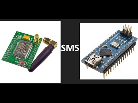 Arduino NANO - A6 GSM модуль отправка SMS