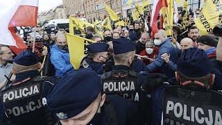 Польша в огне. Массовые протесты против запрета абортов