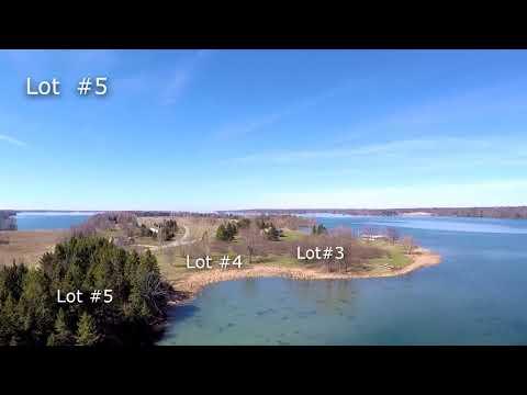 1000 Islands Bateau Channel Waterfront Building Lots for Sale