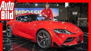 Toyota GR Supra (NAIAS 2019) Weltpremiere / Sitzprobe / Vorstellung