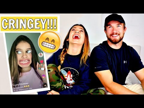 Brother reacts to 13 year old Sister Cringey Tik Toks  Part 2  *hilarious 🤣