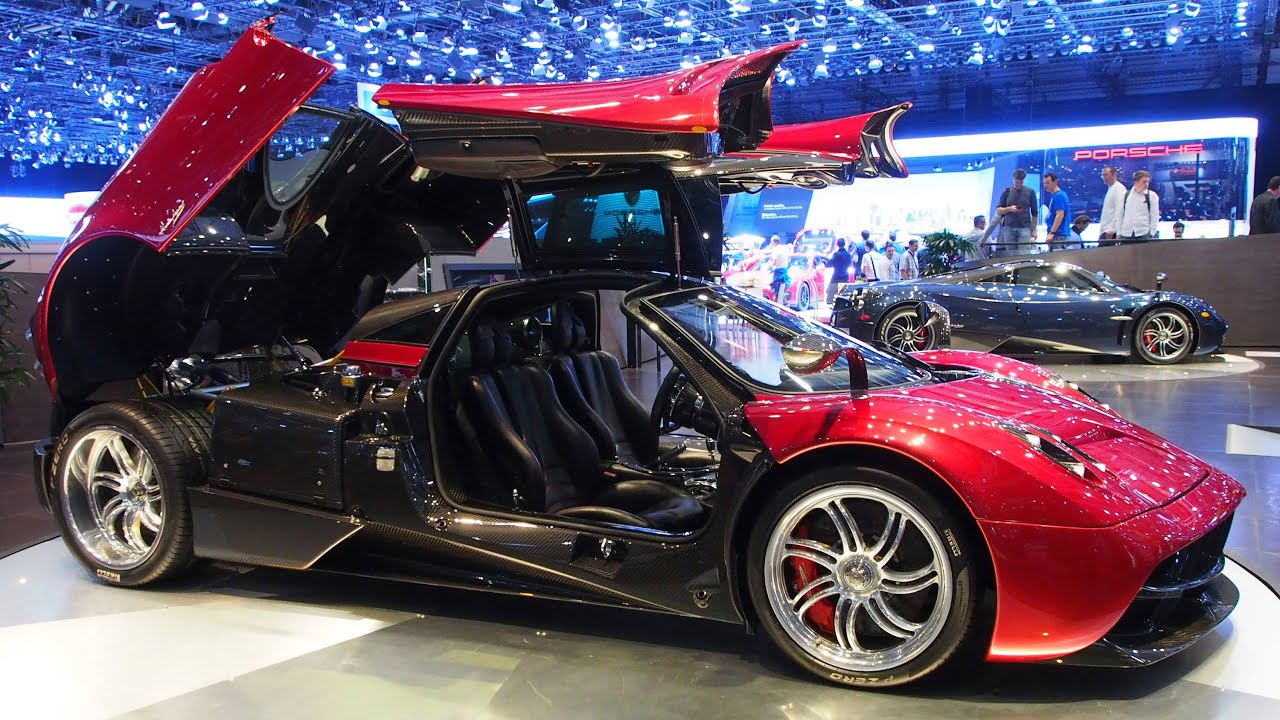 2015 Pagani Huayra In Red Exterior And Interior Walkaround Youtube